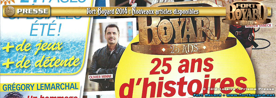 Saison 2014 - Articles de presse
