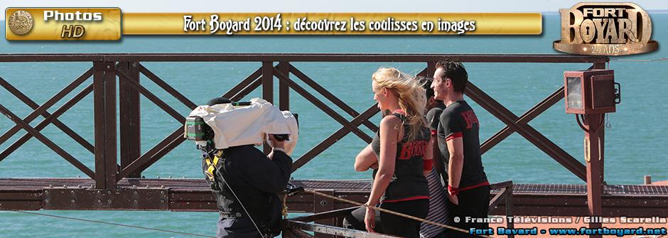 Fort Boyard 2014: découvrez les coulisses en images