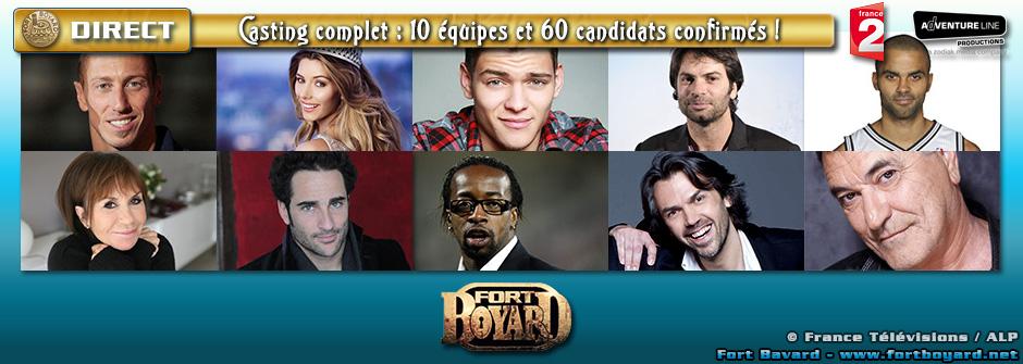 Fort Boyard 2015 [EN DIRECT]: découvrez les 60 célébrités qui participeront à Fort Boyard cet été!