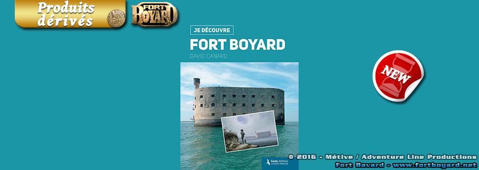 «Je découvre Fort Boyard» (Métive éditions)