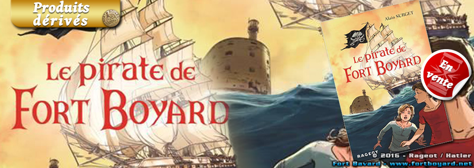 «Le Pirate de Fort Boyard»: le 5e roman d'Alain Surget dans une édition anniversaire