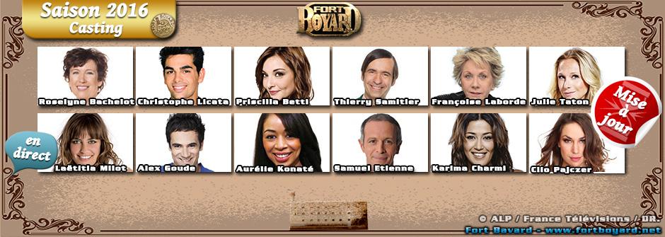 Fort Boyard 2016: découvrez les 61 célébrités de la saison!