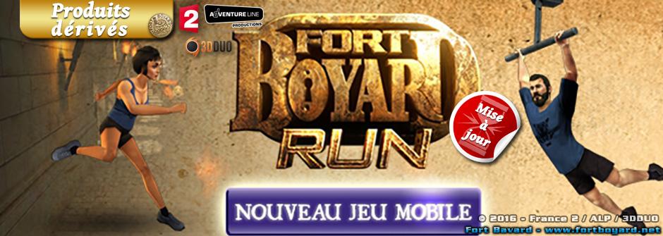 «Fort Boyard Run»: une nouvelle application officielle pour smartphones et tablettes