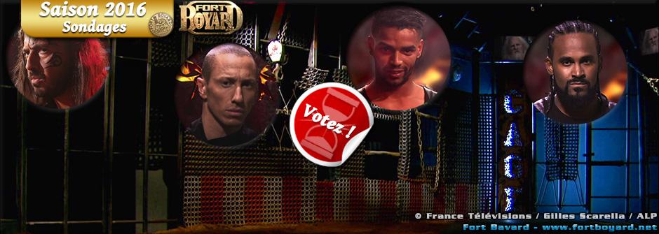 Fort Boyard 2016: Quel Maître de La Cage préférez-vous?
