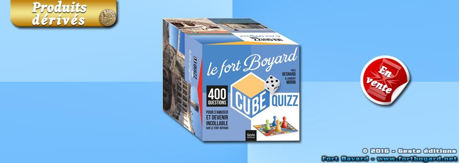 Fort Boyard Cube: testez vos connaissances sur Fort Boyard!