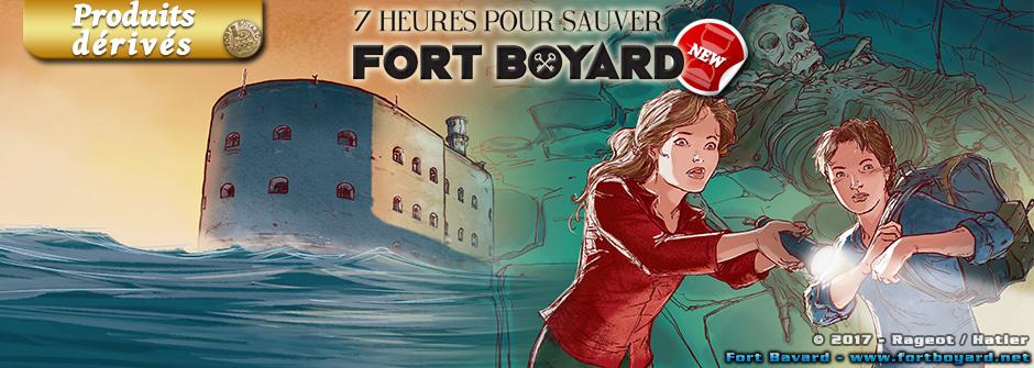 7 heures pour sauver Fort Boyard: le nouveau roman d'Alain Surget