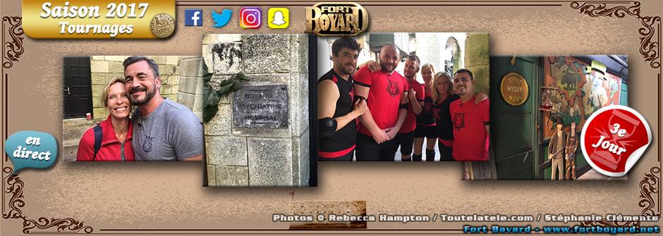 Fort Boyard 2017: 3e jour de tournage vu des réseaux sociaux (24/05)