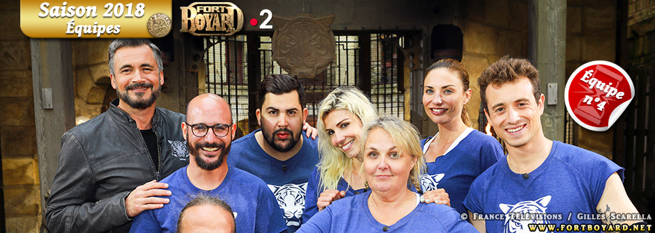 Fort Boyard 2018: Équipe n°4 - Samedi 21 juillet 2018