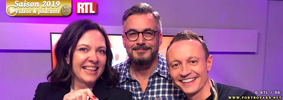 Fort Boyard 2019: Olivier Minne invité d' «On refait la télé» sur RTL ce week-end