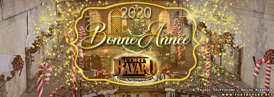 Nous vous souhaitons une Bonne Année 2020!