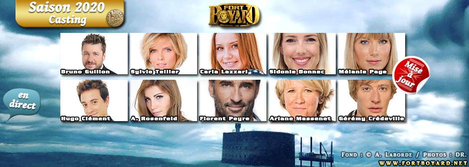 Fort Boyard 2020: découvrez les 55 candidats de la saison
