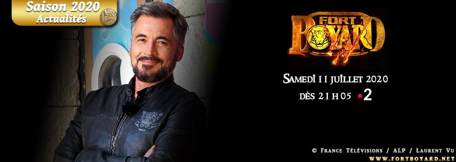 Fort Boyard 2020: la 31e saison arrivera le samedi 11 juillet à 21h05 sur France 2!