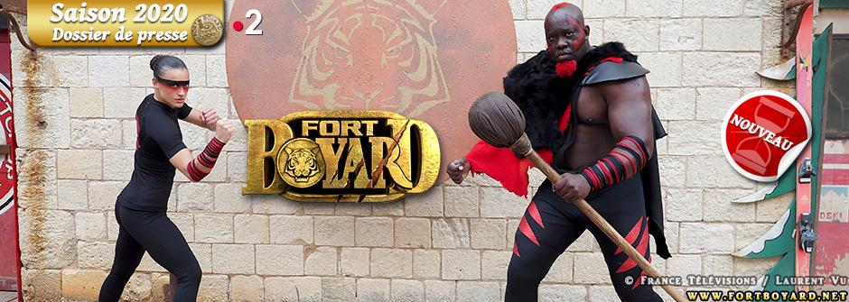 Fort Boyard 2020: le dossier de presse