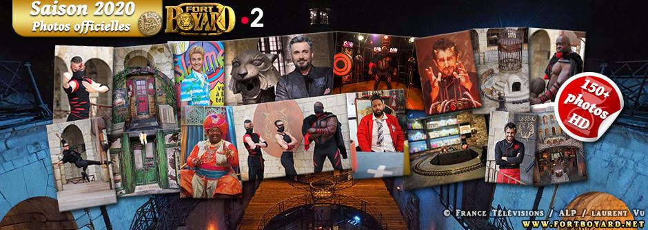 Fort Boyard 2020: les photos officielles des nouveautés et personnages de la saison