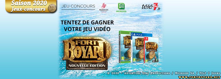 Des jeux-vidéo «Fort Boyard - Nouvelle édition» (Microids) à gagner avec Télé 7 Jours!