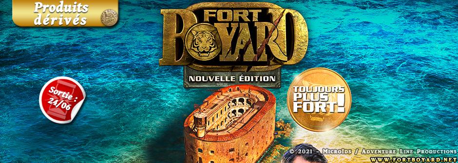 Une 3e édition pour le jeu vidéo Fort Boyard de Microids