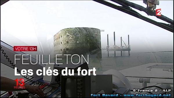 Fort boyard 2015 feuilleton les cl s du fort diffus au 13h de france 2 - Feuilleton saloni version francaise ...