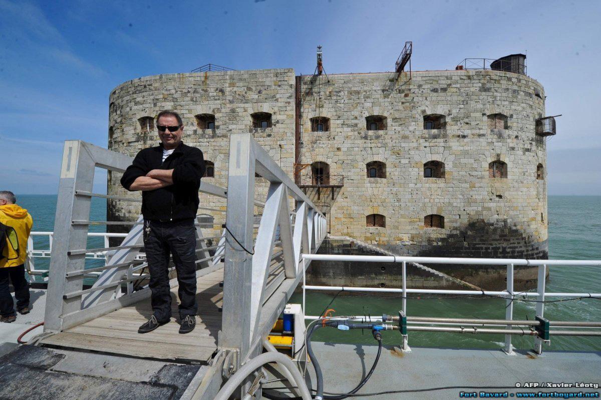 La plateforme de Fort Boyard « Banjaert » a été inaugurée ...