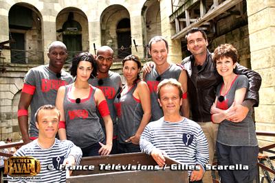 ����� ������ ������ ������� ��������� FORT BOYARD ��� France 2