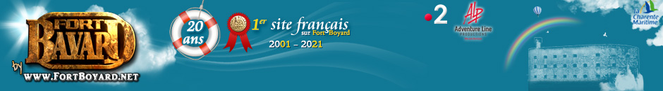 FortBoyard.net | Le premier site français sur Fort Boyard - saison 2019 - 30 ans